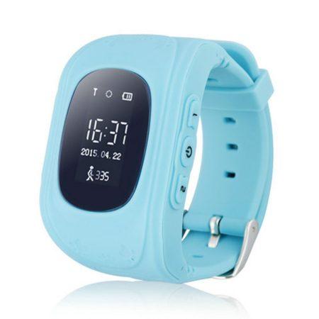 Gyerek okosóra GPS és Bluetooth funkcióval - Kék