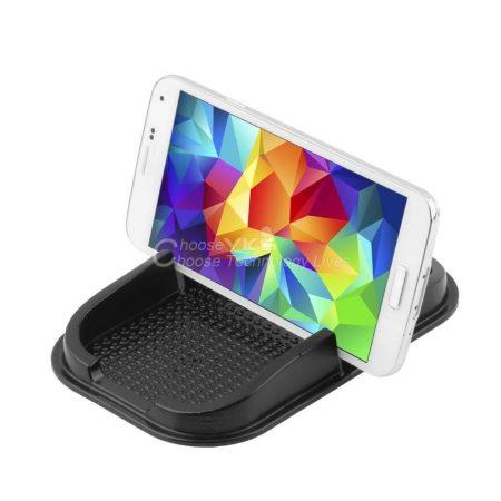 Csúszásmentes autós univerzális telefon- és tablettartó