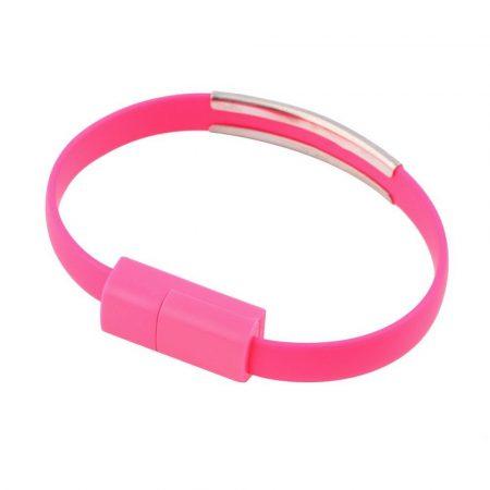 USB karkötő-töltőkábel micro USB ANDROID-hoz