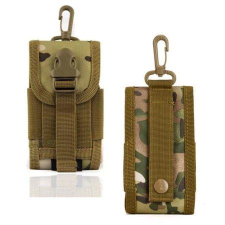Túrázás Vadászat Sport Katonai Cover táska tok mobiltelefonhoz