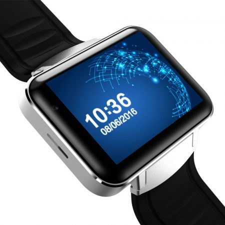 Z03 Bluetooth 4.0 MT6572A Dual Core Intelligens Watch Android 5.1 Smartwatch Támogatás WiFi / GPS / GSM / Videó
