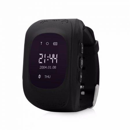 Gyerek okosóra GPS és Bluetooth funkcióval - fekete