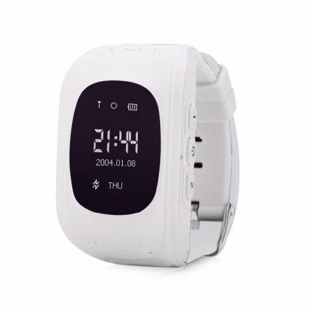 Gyerek okosóra GPS és Bluetooth funkcióval - fehér