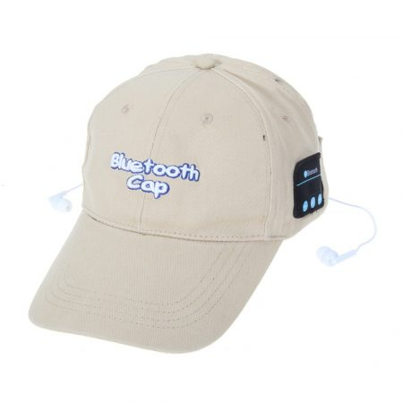 Sztereó bluetooth baseball sapka vezetékes headsettel