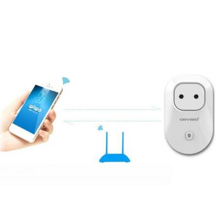 Wifi-s okos smart konnektor időzítő kapcsoló