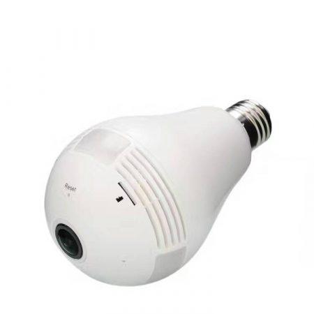 Biztonsági IP kamera villanykörtébe rejtve