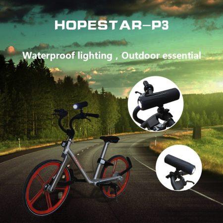 Bluetooth hangszoró lámpa funkcióval kerékpára