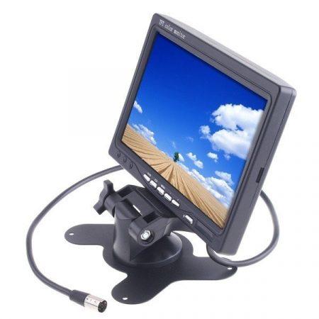 "7"" Tolatókamera monitor"