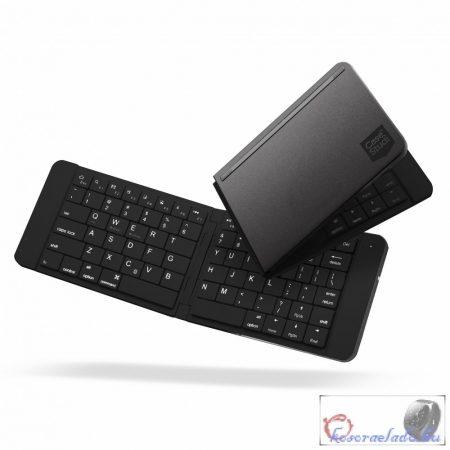 Bluetooth 3.0 vezeték nélküli összecsukható billentyűzet-fekete
