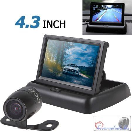 Tolatókamera monitorral minden gépjárműbe