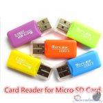 SD Memóriakártya Olvasó USB 2.0 Dual SD & micro SD memóriakártya olvasó