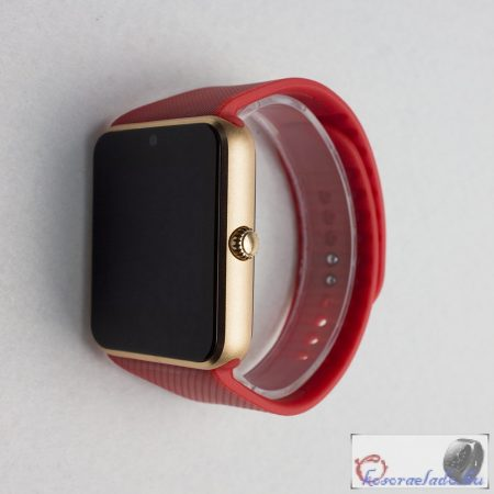 GT08 okosóra telefon egyben - Piros
