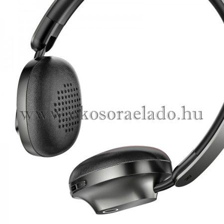 Encok D01 vezeték nélküli összecsukható Bluetooth fejhallgató Baseus - Fekete