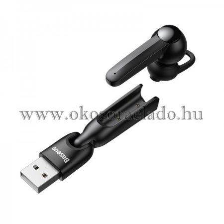 A05 vezeték nélküli Bluetooth 5.0 fülhallgató USB dokkolóval Baseus - Fekete