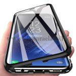 Samsung Galaxy A71 mágneses tok elöl hátul üveggel