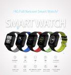 Q1 PRO Smartwatch pulzusmérő WIFI GPS 1GB + 8GB Passometer Smart Watch támogatás Bluetooth telefonhívások okosóra