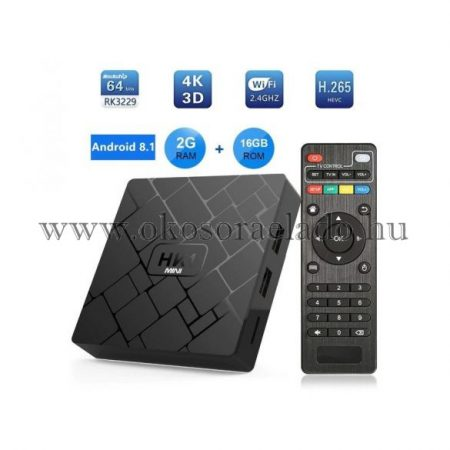 ANDROID TV BOX HK1-FEKETE