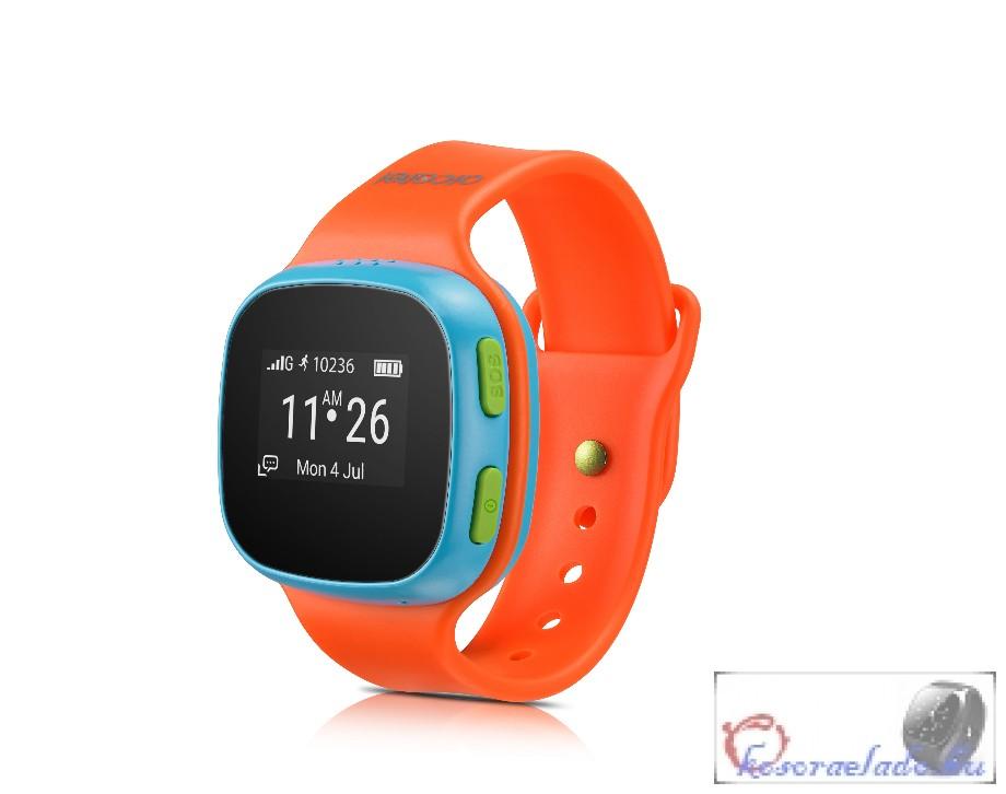 ALCATEL Kids Watch Érintőképernyős gyerek okos óra-kék-Narancs ... da1e1b4458
