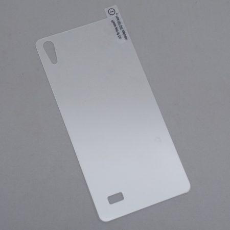 Hátlap edzeett üveg fólia Blackview Omega Pro